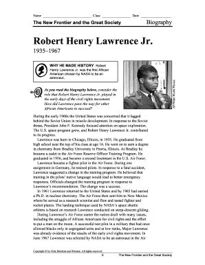 robert henry lawrence
