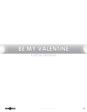 BE MY VALENTINE - Flocknote