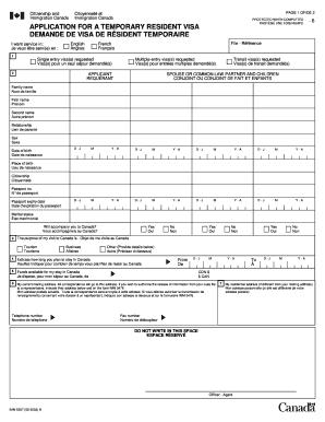 26214818 Multiple Visa Application Form Canada on