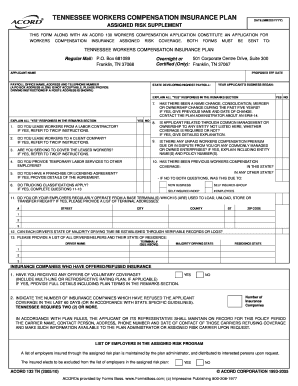 Bill Of Sale Form Tennessee Workers Compensation Insurance Templates Fillable Amp Printable