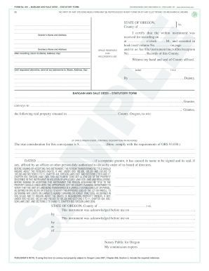 Form 961 Bargain And Sale Deed Fill Online Printable Fillable