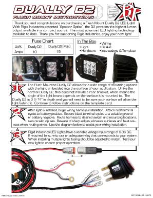 [DVZP_7254]   Rigid Industries Online - Fill Online, Printable, Fillable, Blank |  PDFfiller | Rigid Industries Wiring Diagram |  | PDFfiller