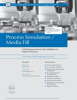 Pda guideline for media fill