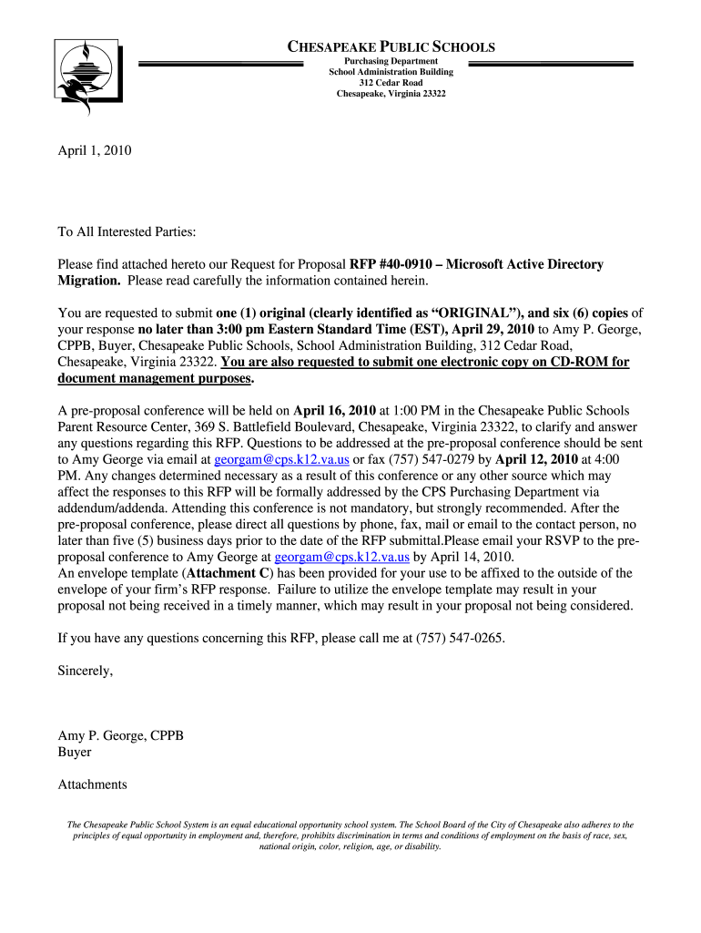 Active Directory Migration Rfps - Fill Online, Printable
