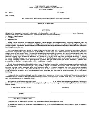 Dissertation letter credit