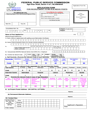 Fpsc Online Apply Form Amend - Fill Online, Printable