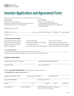agrement forms Investor Agreement Forms - Fill Online, Printable, Fillable, Blank ...