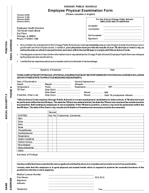 photo regarding Pre Employment Physical Forms Printable titled Cps Worker Actual physical Kinds - Fill On-line, Printable