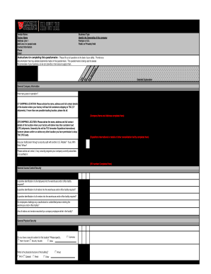 Sample letter of intent to do business with a company forms and c tpat manufacturer security questionnaire form spiritdancerdesigns Gallery