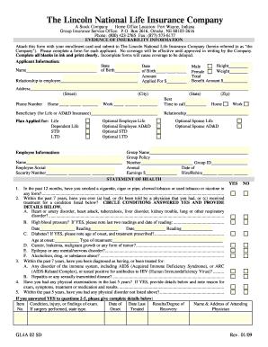 Fillable Online LFG E.O.I Form - Seemybenefitsonline.com Fax Email ...