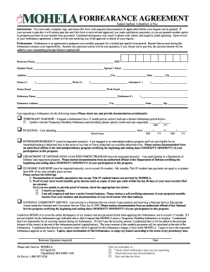 Mohela Deferment Forms