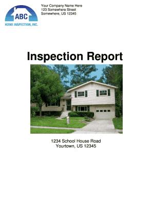 Sample Inspection Report - Palm-Tech
