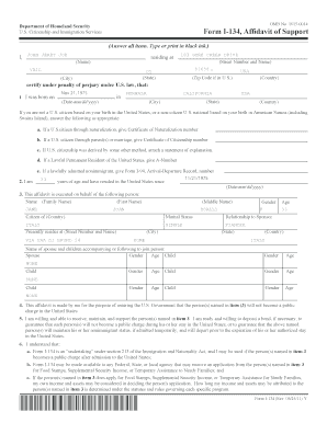 affidavit of support income requirements 2016 Forms and Templates ...
