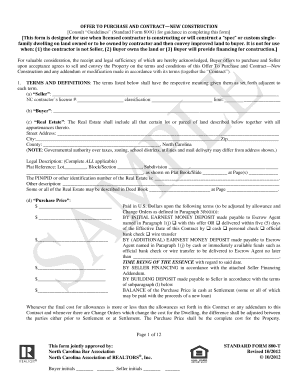 offer to purchase land Forms and Templates - Fillable & Printable ...