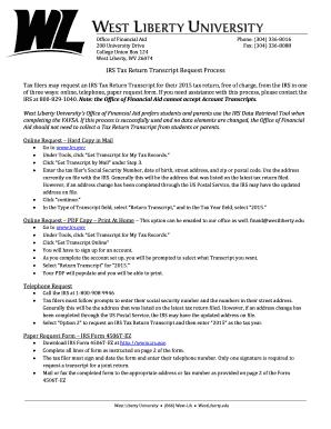 transcript request form liberty university - Edit & Fill Out