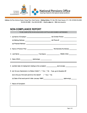 cayman visa application form pdf