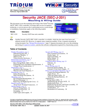fillable online securityjace sec j 201 mounting wiring instructions rh pdffiller com secu wiring instructions secu wiring instructions