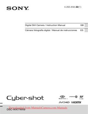 sony cyber shot dsc wx7 manual pdf