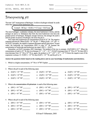 interpreting ph form ws9 31a