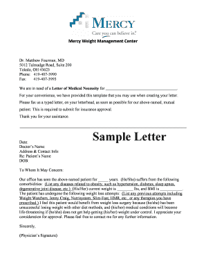 Submit letter of medical necessity template pdf forms and document bsampleb letter mercy weight management center spiritdancerdesigns Image collections
