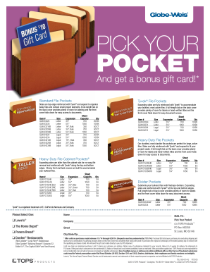 PICK YOUR POCKET - officesolutionscom