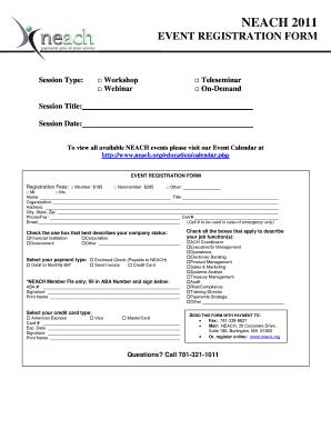 generic evaluation form