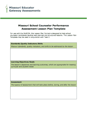 Printable Udl Lesson Plan Template Fill Out Download Top Forms - School counselor lesson plan template