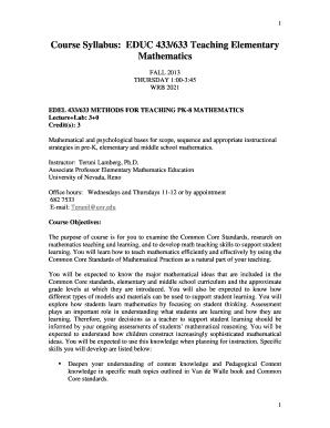 blackline masters van de walle - Edit Online, Fill, Print