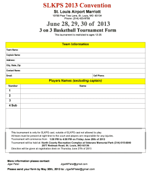 printable basketball tournament waiver form template edit fill out download form templates. Black Bedroom Furniture Sets. Home Design Ideas