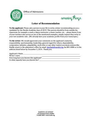 Sample Letter Of Recommendation For Teacher from www.pdffiller.com