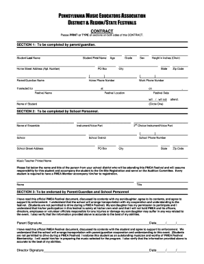 Printable free wedding music contract template - Edit, Fill Out ...