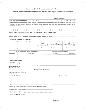 Form Sh4 Pdf