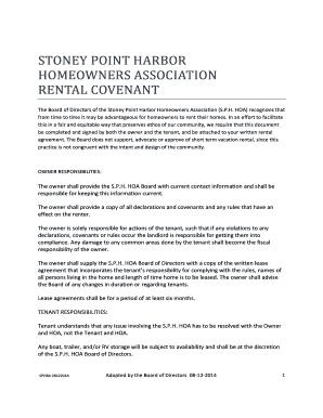 Printable Short Term Vacation Rental Agreement Fill Out