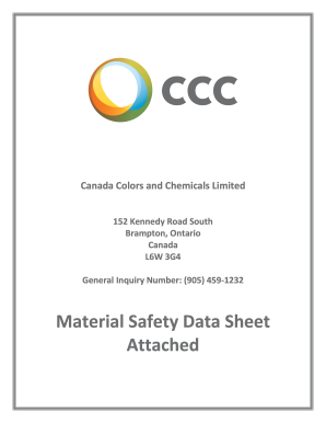 Fillable Online Coatosil 2287 - Canadian - MSDS Fax Email Print
