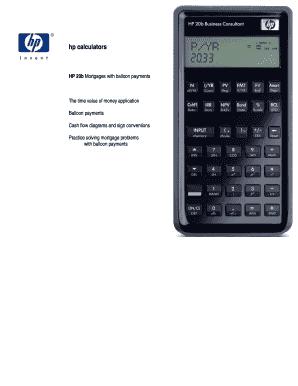 balloon payment calculator