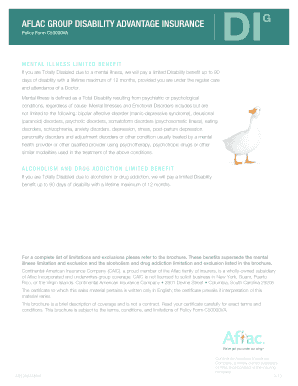 aflac accident claim payouts to Download in Word & PDF ...