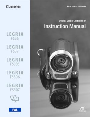 fillable online pood elion digital video camcorder instruction rh pdffiller com vivitar camcorder instruction manual User Manual PDF