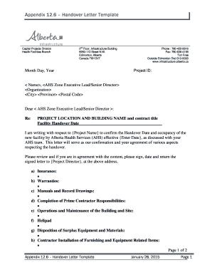Shift handover template download fillable printable templates to appendix 126 handover letter template alberta altavistaventures Choice Image