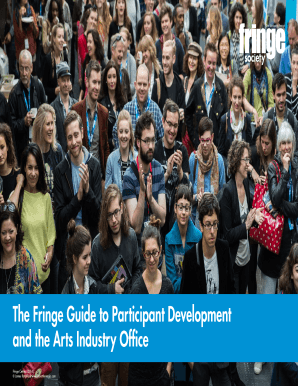 The Fringe Guide to Participant Development and the Arts