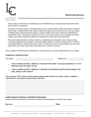 medical form templates microsoft word
