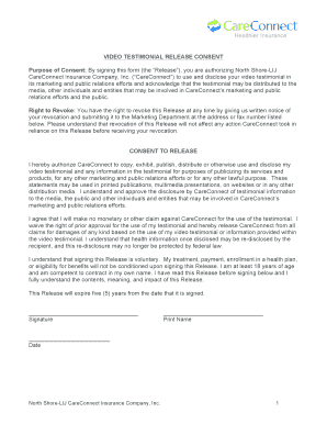 Release form video - Fill Out Online Documents for Local Goverment ...