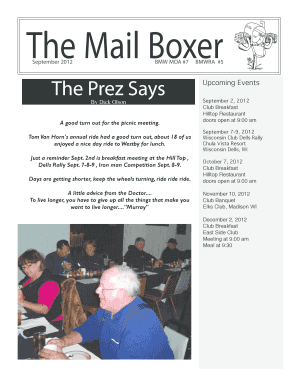The Mail Boxer - madisonbmwclub