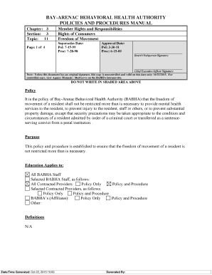 Strayer university peregrine exam fill online printable fillable bayarenac behavioral health authority policies and procedures manual chapter 3 section 3 topic fandeluxe Choice Image