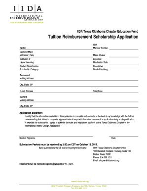 tuition reimbursement proposal sample Printable tuition reimbursement proposal sample - Edit, Fill Out ...