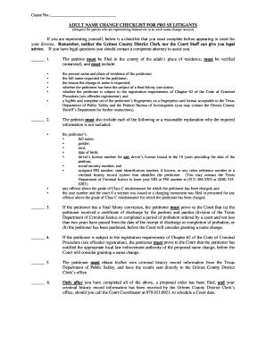 picture regarding Name Change Checklist Printable named Grownup Reputation Difference List FOR Qualified SE LITIGANTS built