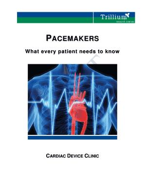 Fillable Online Pacemaker Booklet 2010 05 25 - Trillium ... - photo #9