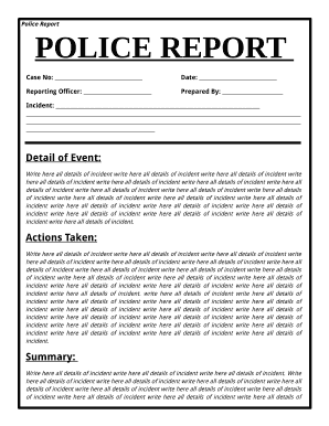 Police Report Template POLICE REPORT   Blogcrdp Versaillesfr   Blog  Crdp Versailles  Police Report Template