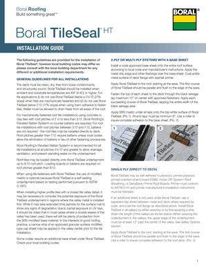 Fillable Online Boral Tileseal Ht Fax Email Print Pdffiller