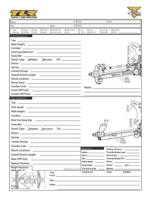 Fillable Online TEN SCTE 2 0 Editable Setup Sheet - PetitRC