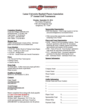 Sponsorship Forms Template sponsor template free sponsorship form